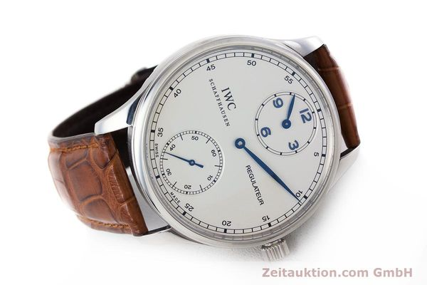 Used luxury watch IWC Portugieser steel manual winding Kal. 98245 Ref. IW544401  | 161701 03