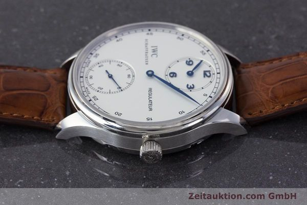 Used luxury watch IWC Portugieser steel manual winding Kal. 98245 Ref. IW544401  | 161701 05