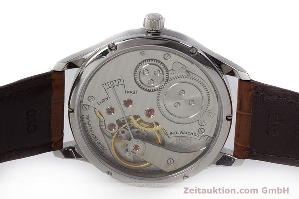 Used luxury watch IWC Portugieser steel manual winding Kal. 98245 Ref. IW544401  | 161701 09