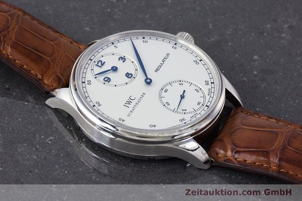 Used luxury watch IWC Portugieser steel manual winding Kal. 98245 Ref. IW544401  | 161701 15