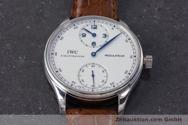 Used luxury watch IWC Portugieser steel manual winding Kal. 98245 Ref. IW544401  | 161701 16