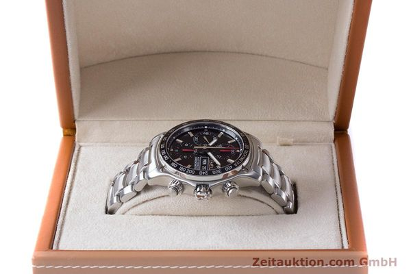 Used luxury watch Ebel 1911 chronograph steel automatic Kal. ETA 7750 Ref. E9750L62  | 161702 07
