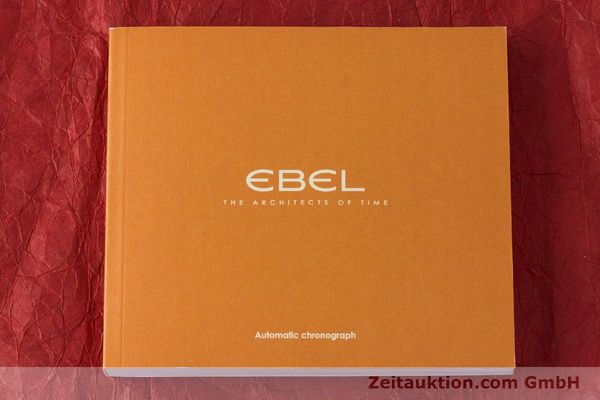 Used luxury watch Ebel 1911 chronograph steel automatic Kal. ETA 7750 Ref. E9750L62  | 161702 13