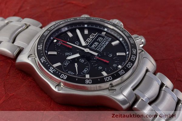 Used luxury watch Ebel 1911 chronograph steel automatic Kal. ETA 7750 Ref. E9750L62  | 161702 16