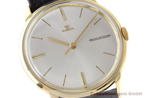 Used luxury watch Jaeger Le Coultre * 18 ct gold manual winding Kal. 819/C Ref. E952 VINTAGE  | 161703 02