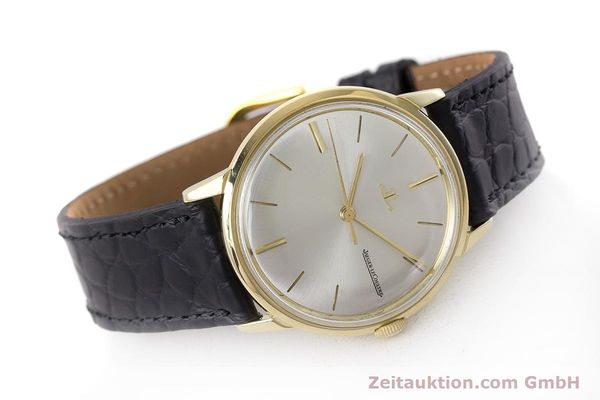 Used luxury watch Jaeger Le Coultre * 18 ct gold manual winding Kal. 819/C Ref. E952 VINTAGE  | 161703 03