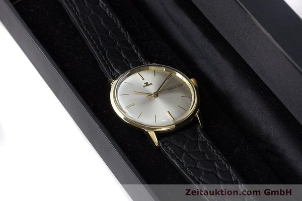 Used luxury watch Jaeger Le Coultre * 18 ct gold manual winding Kal. 819/C Ref. E952 VINTAGE  | 161703 07