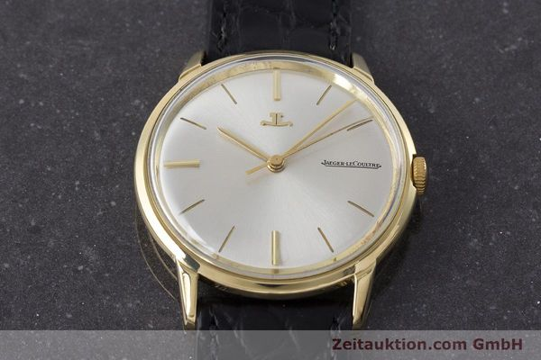 Used luxury watch Jaeger Le Coultre * 18 ct gold manual winding Kal. 819/C Ref. E952 VINTAGE  | 161703 14