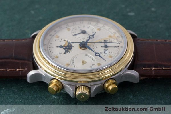 Used luxury watch Maurice Lacroix Phase de Lune  chronograph steel / gold automatic Kal. Valj. 7750  | 161704 05