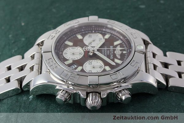 Used luxury watch Breitling Chronomat 41 chronograph steel automatic Kal. B01 Ref. AB0140  | 161705 05