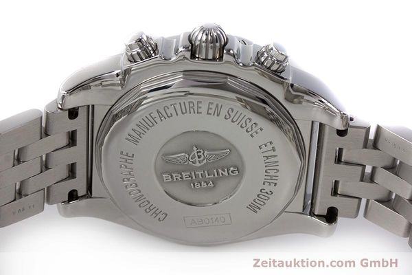 Used luxury watch Breitling Chronomat 41 chronograph steel automatic Kal. B01 Ref. AB0140  | 161705 09
