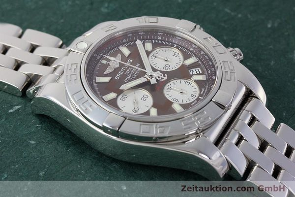 Used luxury watch Breitling Chronomat 41 chronograph steel automatic Kal. B01 Ref. AB0140  | 161705 17