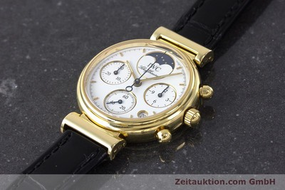 IWC DA VINCI CHRONOGRAPH 18 CT GOLD QUARTZ KAL. 630 [161706]