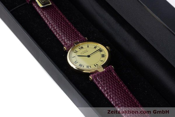 Used luxury watch Cartier Vermeil silver-gilt quartz Kal. 90  | 161707 07