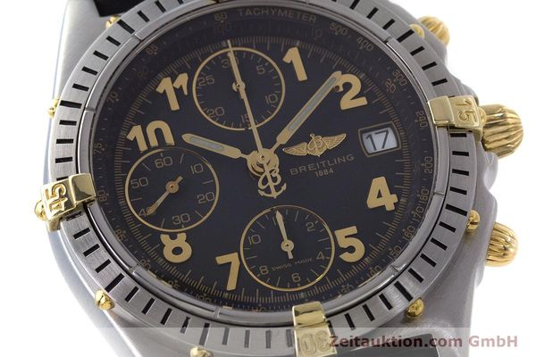 Used luxury watch Breitling Chronomat chronograph steel / gold automatic Kal. B13 ETA 7750 Ref. B13050.1  | 161709 02