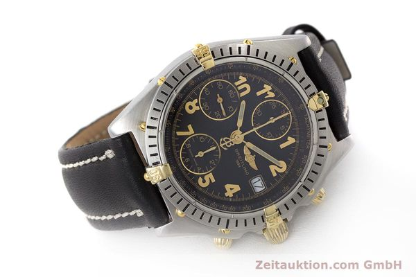 Used luxury watch Breitling Chronomat chronograph steel / gold automatic Kal. B13 ETA 7750 Ref. B13050.1  | 161709 03