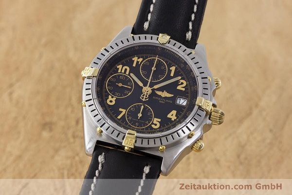 Used luxury watch Breitling Chronomat chronograph steel / gold automatic Kal. B13 ETA 7750 Ref. B13050.1  | 161709 04