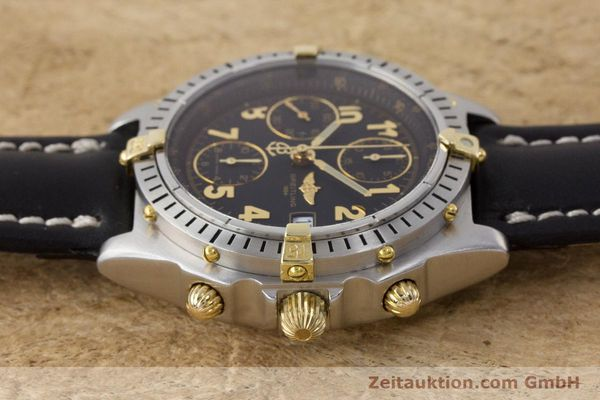 Used luxury watch Breitling Chronomat chronograph steel / gold automatic Kal. B13 ETA 7750 Ref. B13050.1  | 161709 05