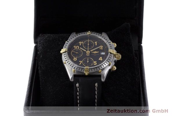 Used luxury watch Breitling Chronomat chronograph steel / gold automatic Kal. B13 ETA 7750 Ref. B13050.1  | 161709 07