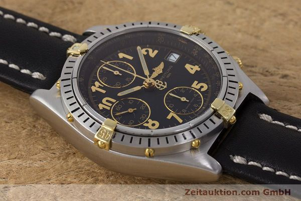 Used luxury watch Breitling Chronomat chronograph steel / gold automatic Kal. B13 ETA 7750 Ref. B13050.1  | 161709 14