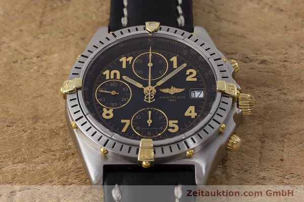Used luxury watch Breitling Chronomat chronograph steel / gold automatic Kal. B13 ETA 7750 Ref. B13050.1  | 161709 15
