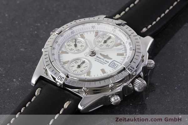 Used luxury watch Breitling Chronomat chronograph steel automatic Kal. B13 ETA 7750 Ref. A13050.1  | 161718 01