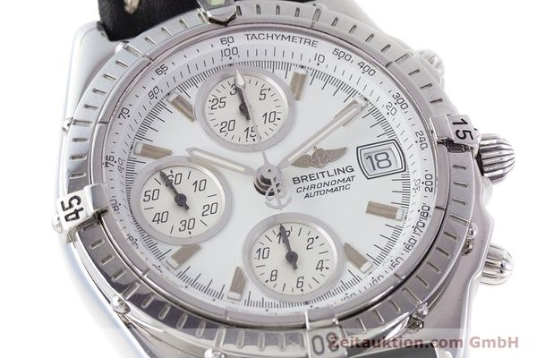 Used luxury watch Breitling Chronomat chronograph steel automatic Kal. B13 ETA 7750 Ref. A13050.1  | 161718 02