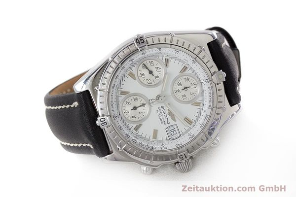 Used luxury watch Breitling Chronomat chronograph steel automatic Kal. B13 ETA 7750 Ref. A13050.1  | 161718 03