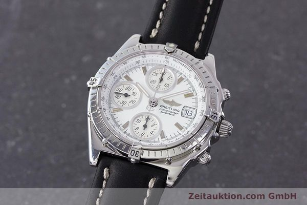 Used luxury watch Breitling Chronomat chronograph steel automatic Kal. B13 ETA 7750 Ref. A13050.1  | 161718 04