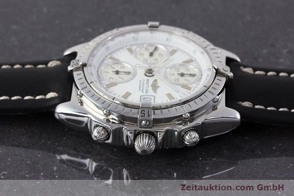 Used luxury watch Breitling Chronomat chronograph steel automatic Kal. B13 ETA 7750 Ref. A13050.1  | 161718 05