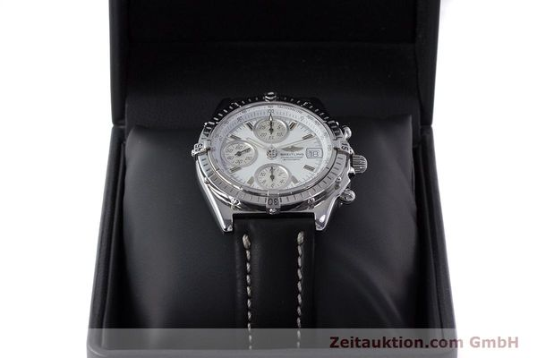 Used luxury watch Breitling Chronomat chronograph steel automatic Kal. B13 ETA 7750 Ref. A13050.1  | 161718 07