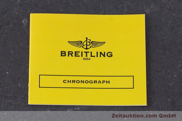 Used luxury watch Breitling Chronomat chronograph steel automatic Kal. B13 ETA 7750 Ref. A13050.1  | 161718 12