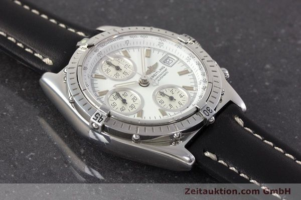 Used luxury watch Breitling Chronomat chronograph steel automatic Kal. B13 ETA 7750 Ref. A13050.1  | 161718 15