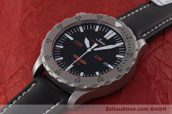 Used luxury watch Sinn UX EZM 2B steel quartz Ref. 403.031  | 161724 01