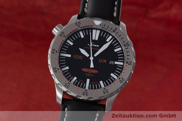 Used luxury watch Sinn UX EZM 2B steel quartz Ref. 403.031  | 161724 04