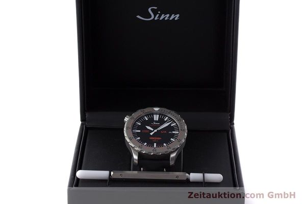 Used luxury watch Sinn UX EZM 2B steel quartz Ref. 403.031  | 161724 07