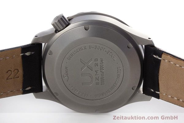 Used luxury watch Sinn UX EZM 2B steel quartz Ref. 403.031  | 161724 09