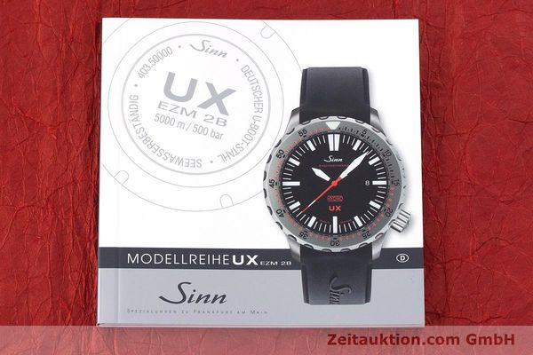Used luxury watch Sinn UX EZM 2B steel quartz Ref. 403.031  | 161724 11