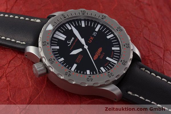 Used luxury watch Sinn UX EZM 2B steel quartz Ref. 403.031  | 161724 13