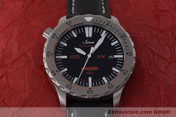 Used luxury watch Sinn UX EZM 2B steel quartz Ref. 403.031  | 161724 14