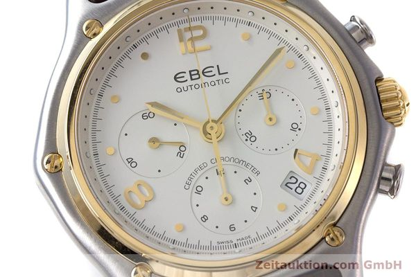 Used luxury watch Ebel 1911 chronograph steel / gold automatic Kal. 137 Ref. 1137240  | 161725 02
