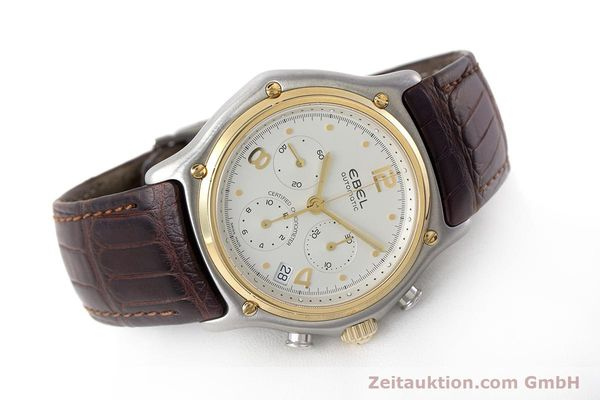 Used luxury watch Ebel 1911 chronograph steel / gold automatic Kal. 137 Ref. 1137240  | 161725 03
