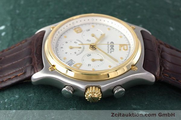 Used luxury watch Ebel 1911 chronograph steel / gold automatic Kal. 137 Ref. 1137240  | 161725 05