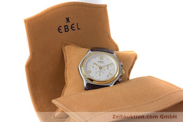 Used luxury watch Ebel 1911 chronograph steel / gold automatic Kal. 137 Ref. 1137240  | 161725 07