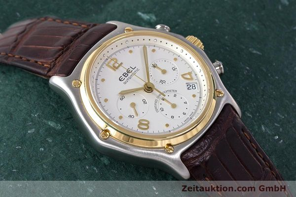 Used luxury watch Ebel 1911 chronograph steel / gold automatic Kal. 137 Ref. 1137240  | 161725 15