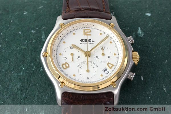 Used luxury watch Ebel 1911 chronograph steel / gold automatic Kal. 137 Ref. 1137240  | 161725 16