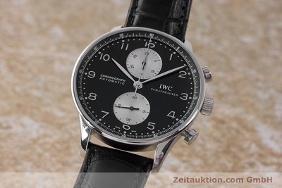 IWC PORTUGIESER CHRONOGRAPH STEEL MANUAL WINDING KAL. 79350 LP: 7350EUR [161733]