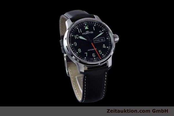 Used luxury watch Fortis Flieger steel automatic Ref. 704.21.158  | 161737 01