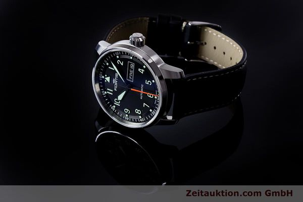 Used luxury watch Fortis Flieger steel automatic Ref. 704.21.158  | 161737 05