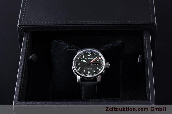 Used luxury watch Fortis Flieger steel automatic Ref. 704.21.158  | 161737 07